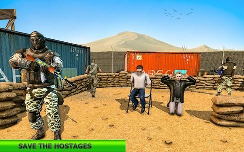 Real Terrorist Shooting Games: Gun Shoot War 1