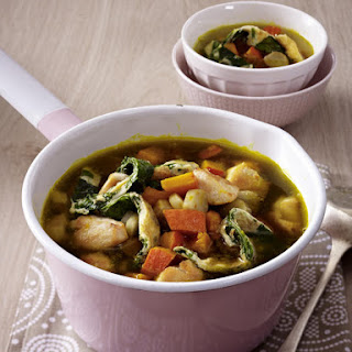 Chicken Stew with Chunky Vegetables.