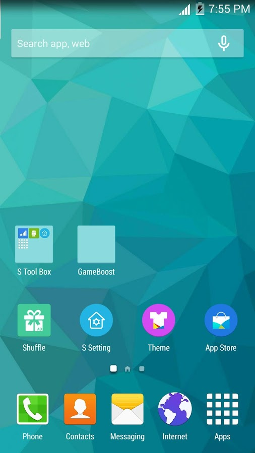 S Launcher (Galaxy S6 Launcher- screenshot