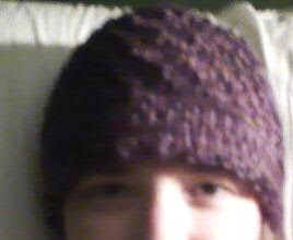 Photo: Completed 8 Feb 2010. Knitted hat using free pattern from web.
