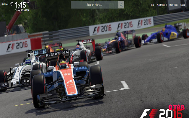 F1 2016 Wallpapers HD Theme