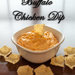 Crockpot Buffalo Chicken Dip.