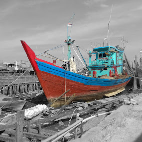 Sailing by Evan Septian - Transportation Boats ( #medan #belawan #evan )