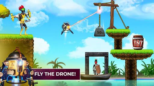 Mr Shooter Offline Game -Puzzle Adventure New Game APK MOD – Monnaie Illimitées (Astuce) screenshots hack proof 2