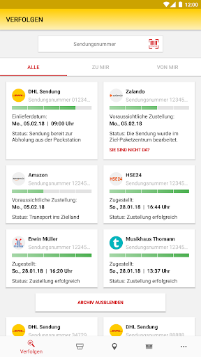 DHL Paket screenshot 18