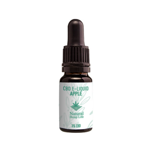 CBD E-juice Äpple 3% från Natural Hemp Life
