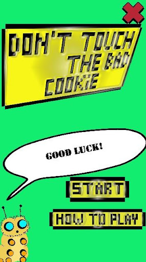 Don't touch the bad cookie