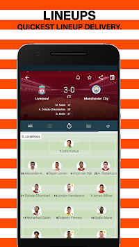 Forza - Live soccer scores & video highlights