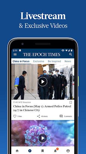 The Epoch Times: Live & Breaking News screenshot 2