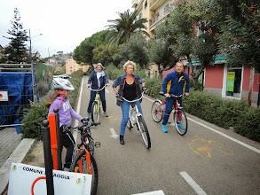 Photo: Tout le monde est là (Gilles a du rentrer à cause de son mollet blessé), on va repartir.