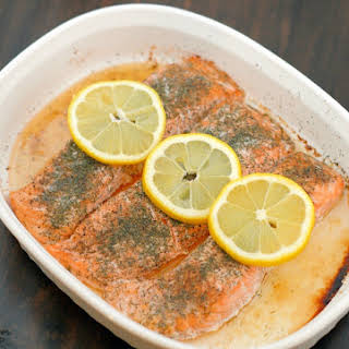 Lemon Dill Salmon.