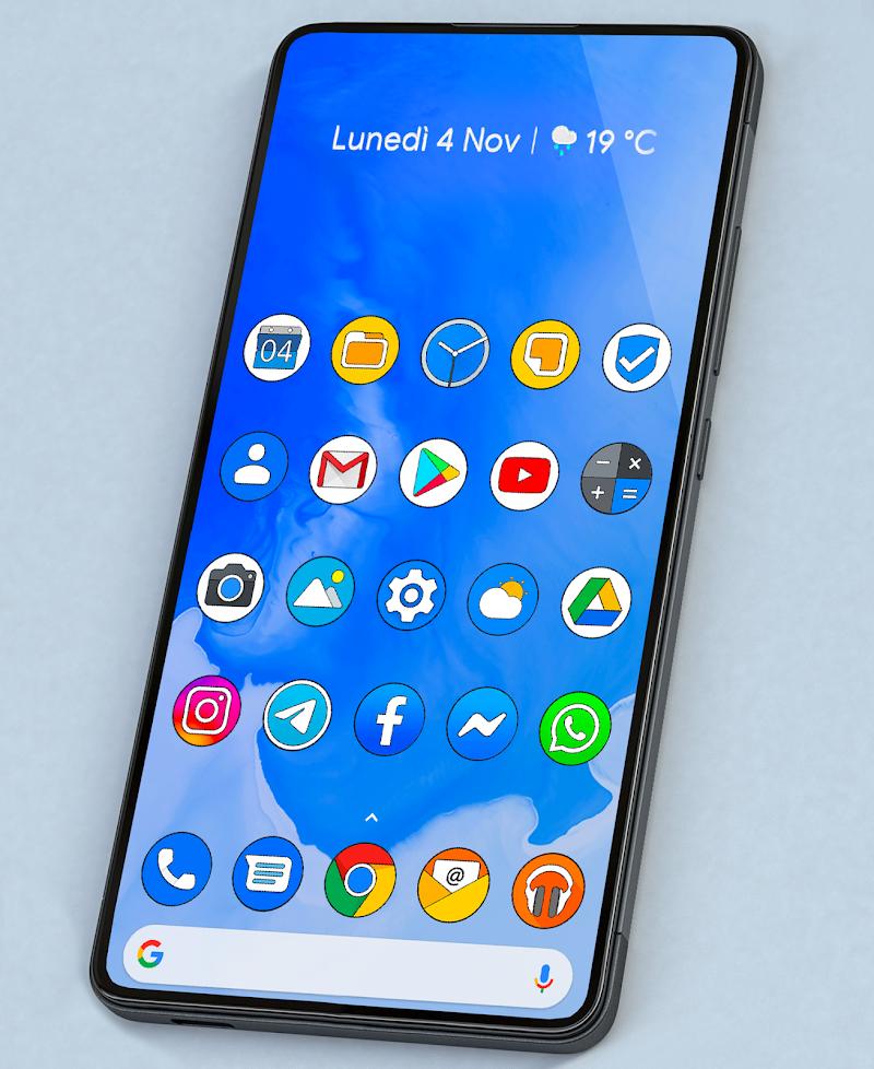 PIXEL Q HD - ICON PACK Screenshot 2