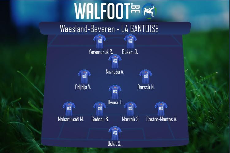 La Gantoise (Waasland-Beveren - La Gantoise)