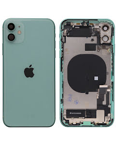 iPhone 11 Housing with small parts Original Pulled Green
