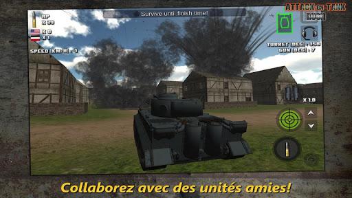 Attaque sur Char : Rush - World War 2 Heroes fond d'écran 2