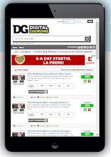 DG Coupon - Big Money Discount & Promo Brands - náhled