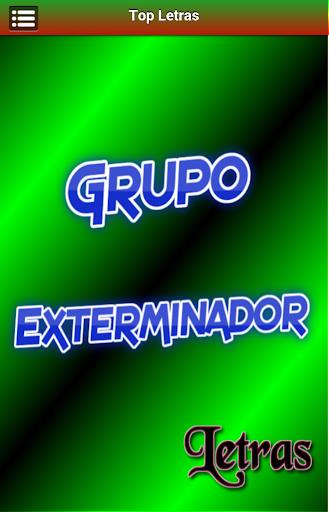 Letras Grupo Exterminador