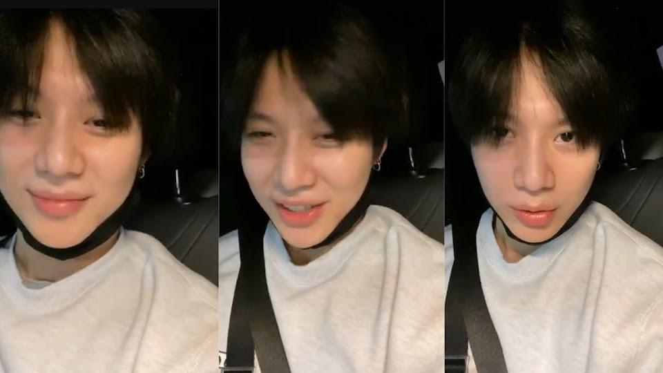 Taemin 5/14 IG live