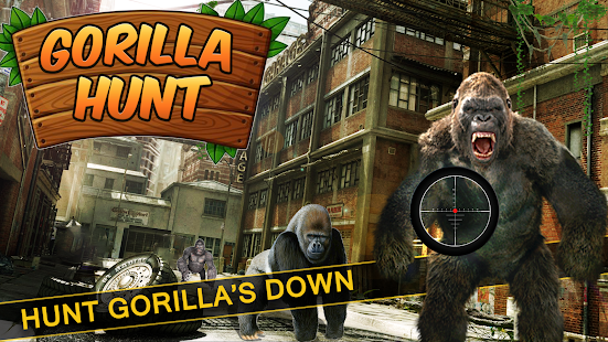 Wild Gorilla City Attack- screenshot thumbnail
