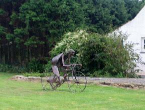 Photo: Encore un fana de vélo !