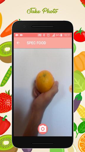 NutriFood- camera nutrients food  screenshots 1