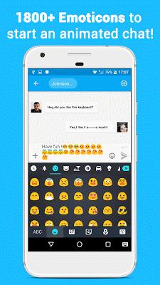 Colorkey-GIF keyboard&Fonts - screenshot