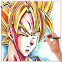 Learn To Draw Goku Characters APK icon