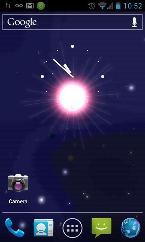 Скриншот Solar System Live Wallpaper