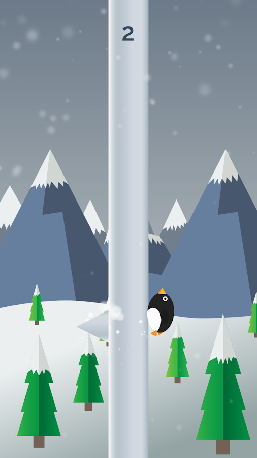 Penguin Run, Cartoon- screenshot
