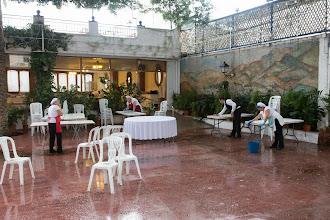 Foto: Viernes, el día de la lluvia, en el Casino