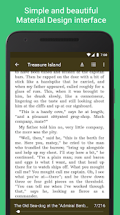 Lithium: EPUB Reader Screenshot