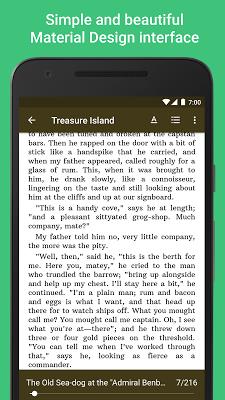 Lithium: EPUB Reader - screenshot