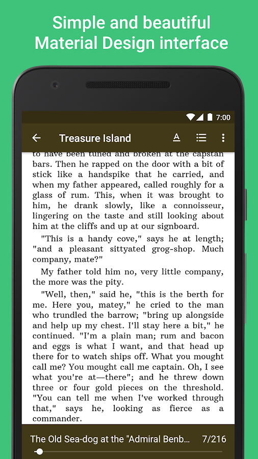 Lithium: EPUB Reader- screenshot