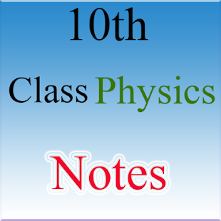 10th Class Physics Notes - náhled