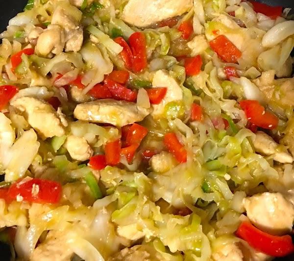 Chicken Cabbage Stir Fry Recipe