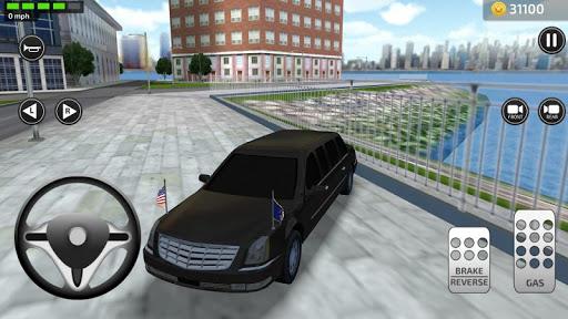 3D Car Driving Simulator - President Donald Trump 1.1 screenshots 1