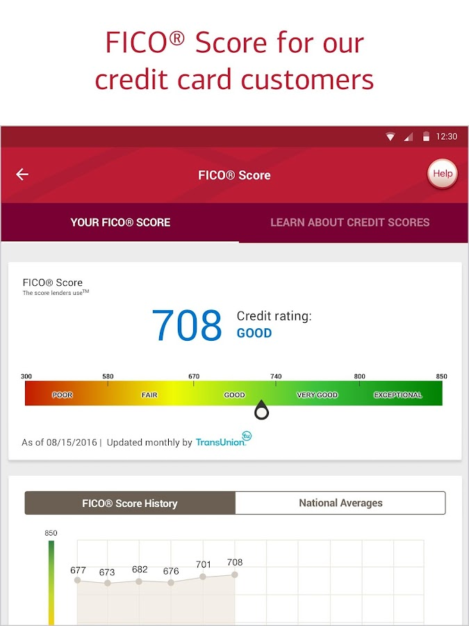 Bank of America Mobile Banking- screenshot