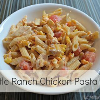 Chipotle Ranch Chicken Pasta