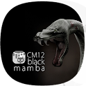 CM12 Theme Black Mamba Free icon