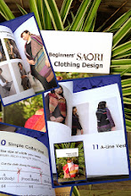 Photo: now the beginning sewing book is in English