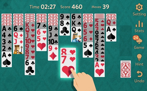 Spider Solitaire: Kingdom modavailable screenshots 1