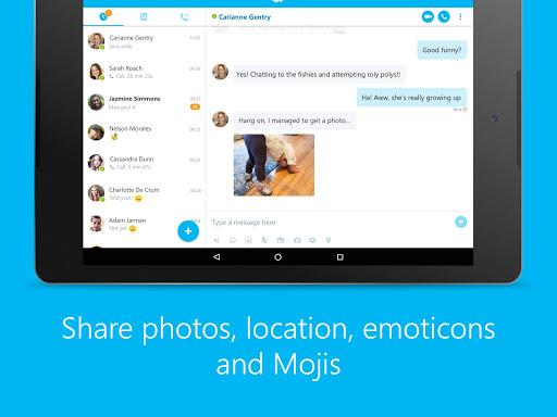 Skype - free IM & video calls screenshot 7
