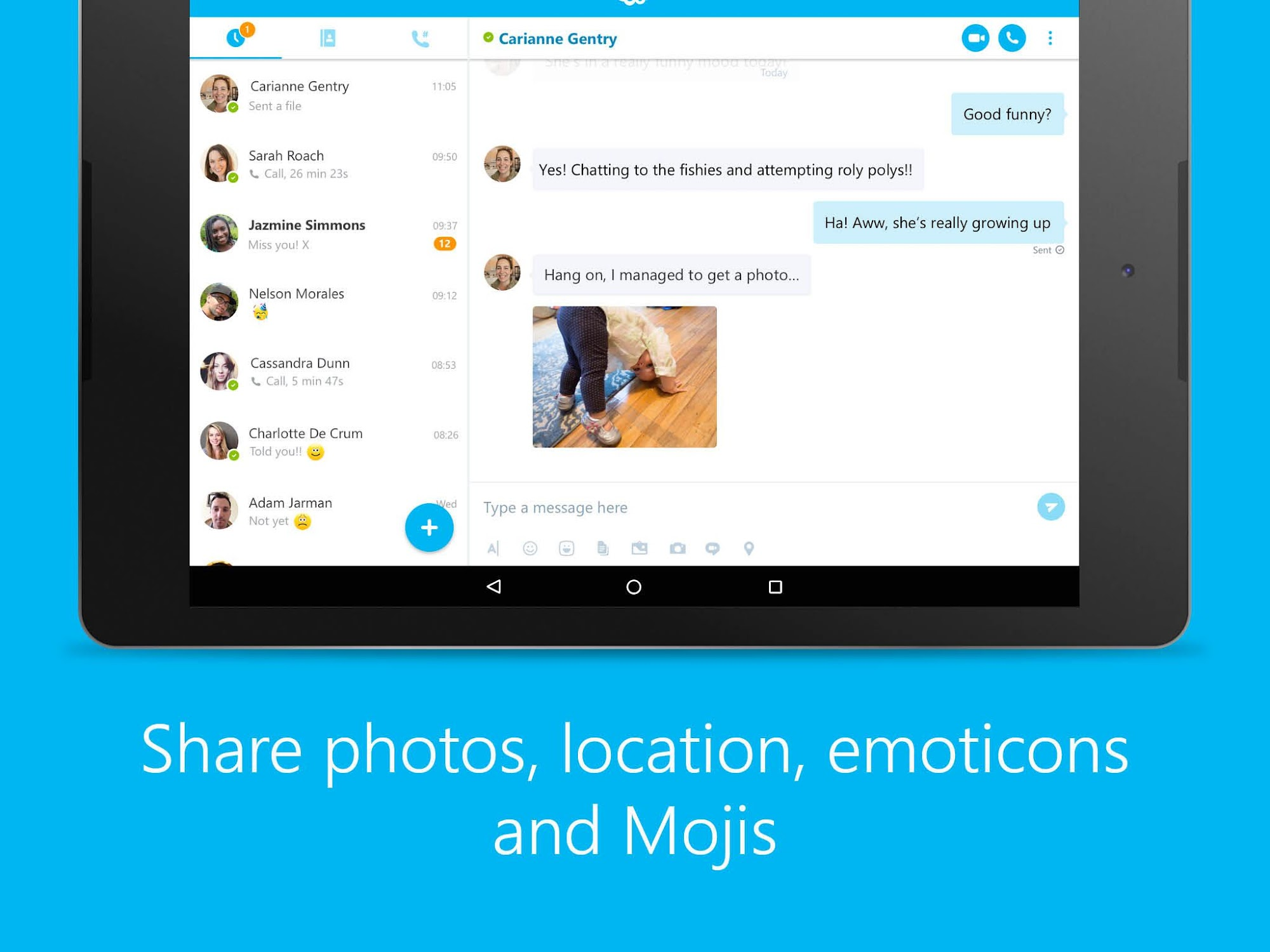 Skype - free IM & video calls screenshot #7