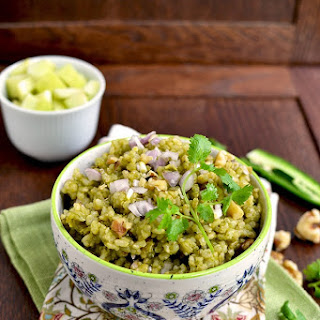 Healthy Cilantro Rice (with Brown Rice) Recipe