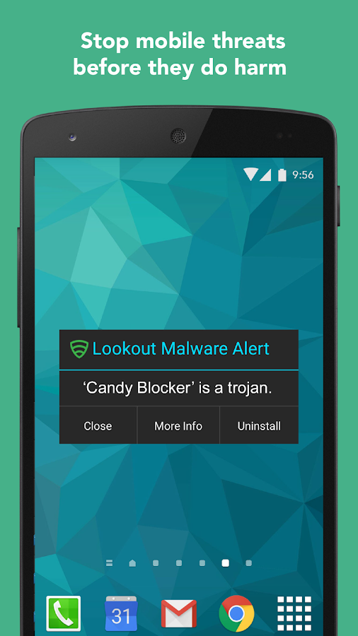 Lookout Security & Antivirus- screenshot