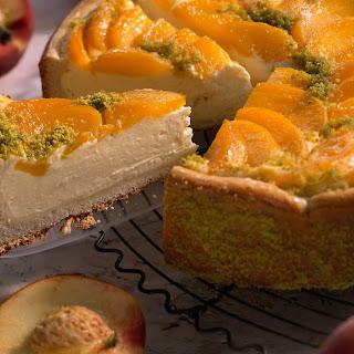 Pfirsich-Ricotta-Kuchen