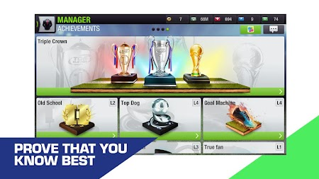 Top Eleven 2019 -  Be a soccer manager APK screenshot thumbnail 6