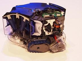 「ダイソン 360 Eye」のカットモデル