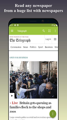 World Newspapers - US and world news 2.6.0 screenshots 1