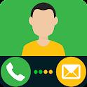 Fake Call e il messaggio SMS icon